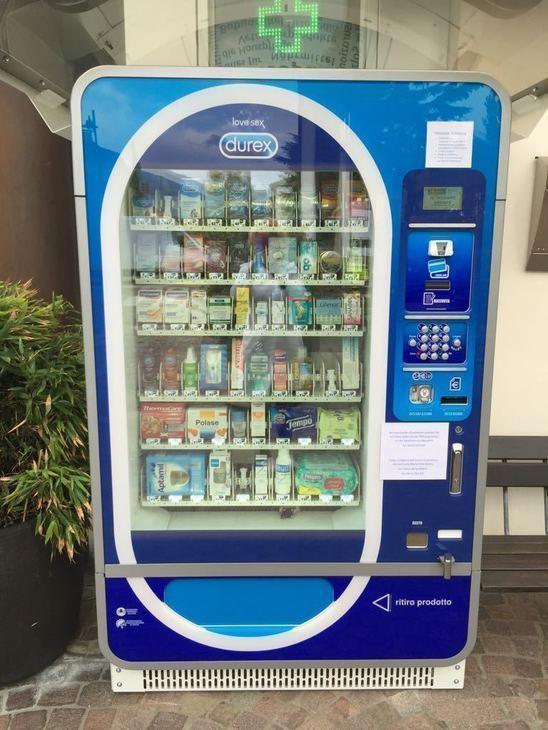 Nuovo: Distributore automatico per farmacia