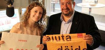 """MPREIS unterstützt """"Südtirol hilft"""" mit einer Spendensumme von 5.000€"""