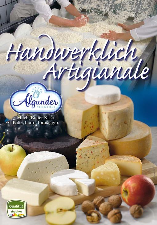 Artigianale: Latte, burro, formaggio