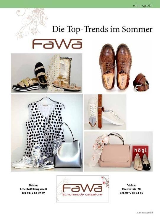 Die Top-Trends im Sommer bei Fawa
