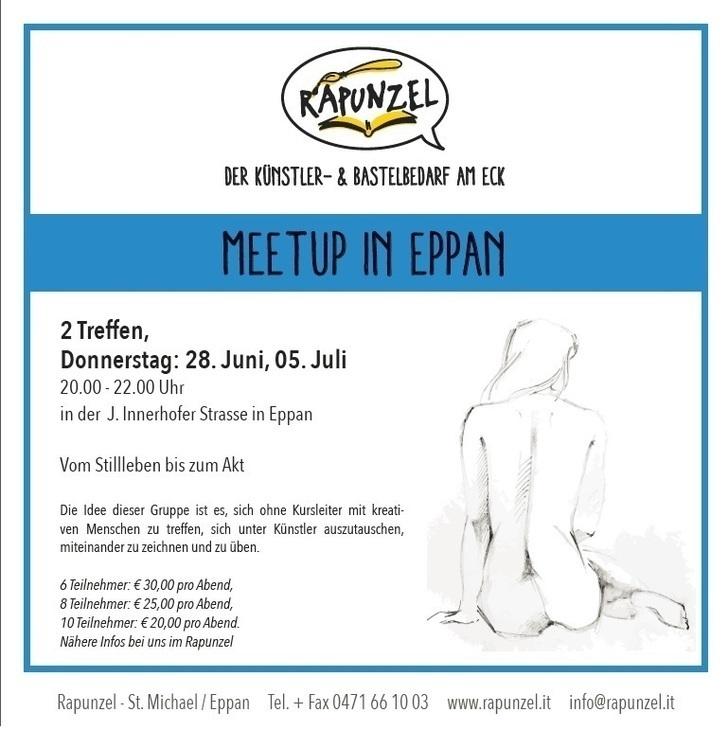 Zeichner-Meetup bei Rapunzel in Eppan