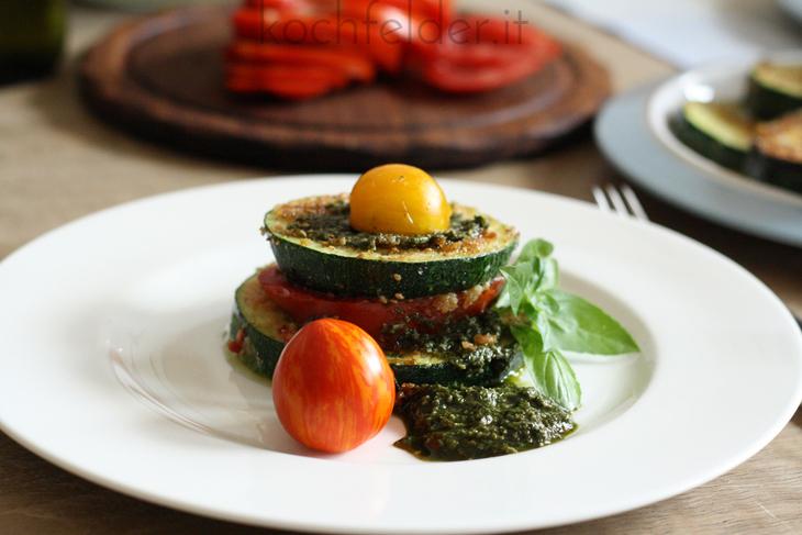 Sommer-Zucchini-Lasagne