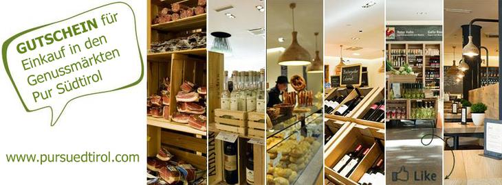 Buono spesa per i mercati dei sapori Pur Südtirol