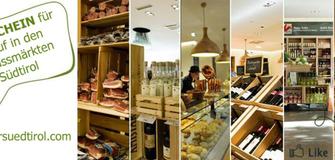 Einkaufsgutschein für die Genussmärkte Pur Südtirol