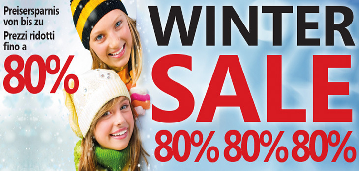 Saldi invernali all'Outlet Center Brennero