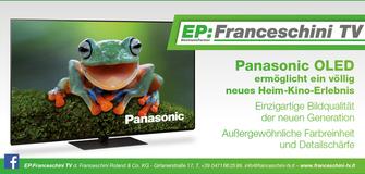 Panasonic Oled - einzigartige Bildqualität