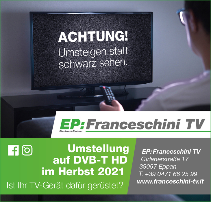 In arriva la nuova TV digitale - primi passi previsti per autunno 2021