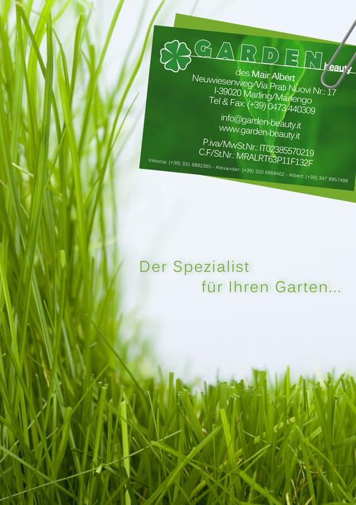 I giardiniere per il suo giardino