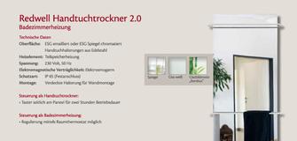 Redwell Handtuchtrockner 2.0