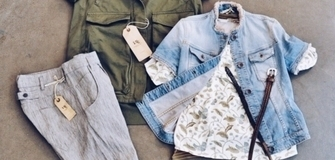 Woman spring outfit