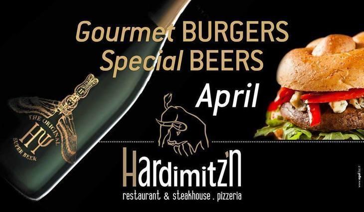 Burger & special beers!!