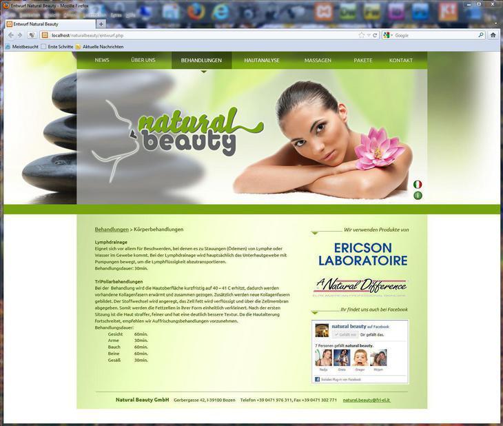 La nostra pagina internet