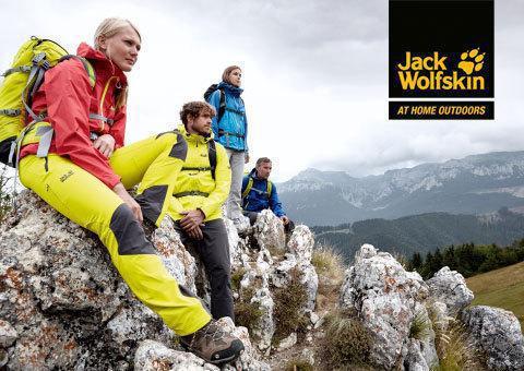 Jack Wolfskin NUOVO al Brennero