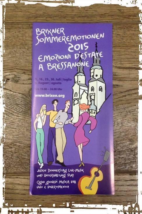 Emozioni d'estate a Bressanone 2015