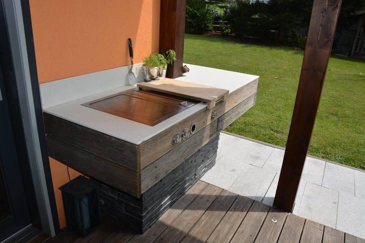 olina cucina da giardino - cucinare al esterno! | looptown