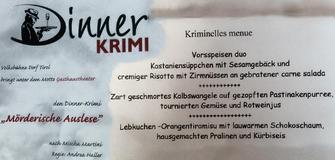 Dinner Krimi - Volksbühne Dorf Tirol