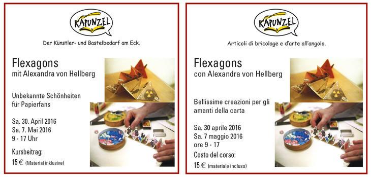 Flexagons con Alexandra von Hellberg
