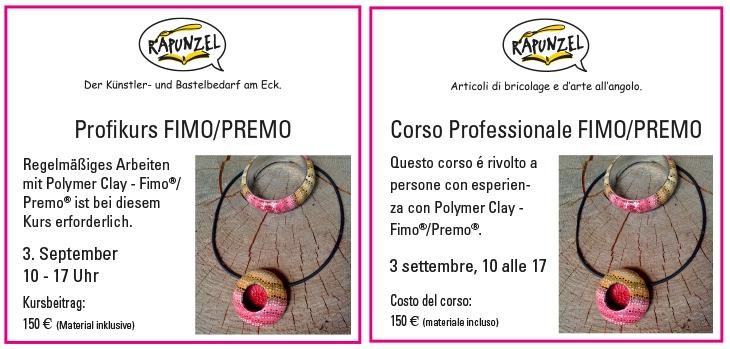 Corso Professionale FIMO/PREMO
