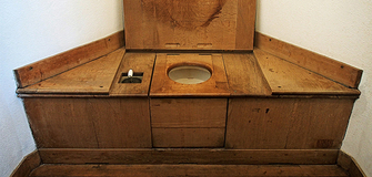 Neue Toilette?