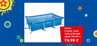 Intex Frame Pool CM 220X150X60