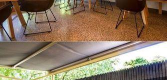 Wir präsentieren unseren umgebauten Biergarten und den neuen Pavillon!
