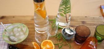 La caraffa per l'estate - acqua aromatizzata