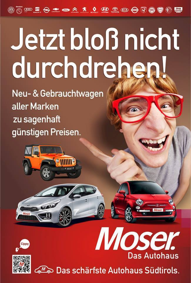 Autohaus moser bruneck pustertal s dtirol looptown for Bewertung autohaus