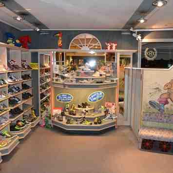 Kinder-Schuhabteilung