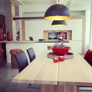 Ausstellungsküche bei olina Küchen in Meran