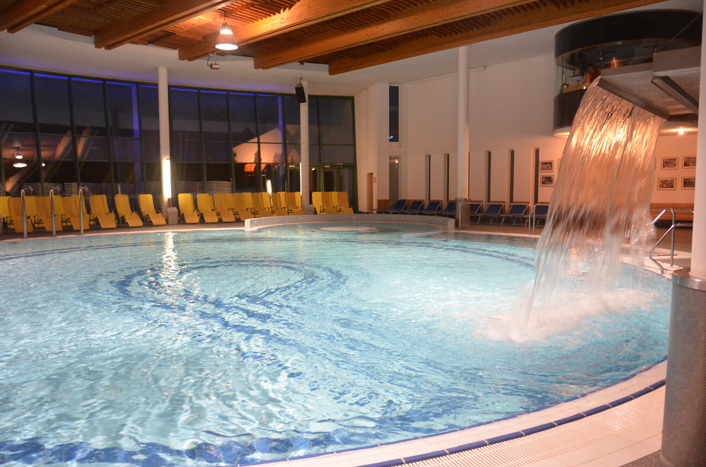 Cron4 piscina coperta brunico brunico val pusteria for Piani di piscina coperta