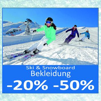 Abbigliamento Sci & Snowboard -20% fino a -50%