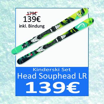 Set sci per bambini incl. attachi ad un prezzo inbattibile!