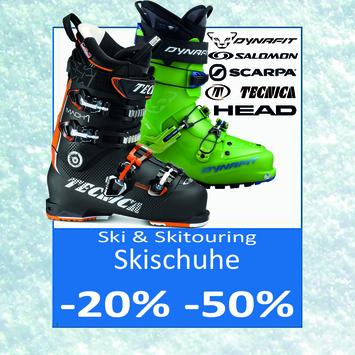 Scarponi per sci e sci alpinismo ridotti fino al -50%!