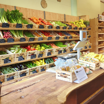 Biokistl-Geschäft in Lana