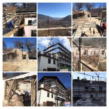 Abbruch und Wiederaufbau - Wohnhaus in Lana