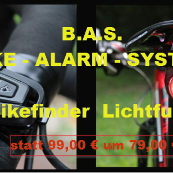 B.A.S. eBike Alarm System / Alarmanlage für eBike´s