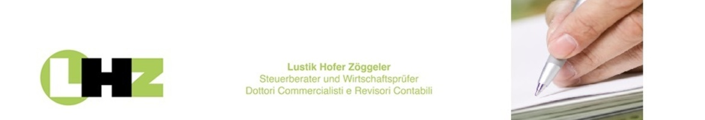 Lustik, Hofer, Zöggeler - Dottori Commercialisti e Revisori Contabili