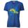 T-Shirt blu scura con Gufo e Tre Cime  EU.M.15.011