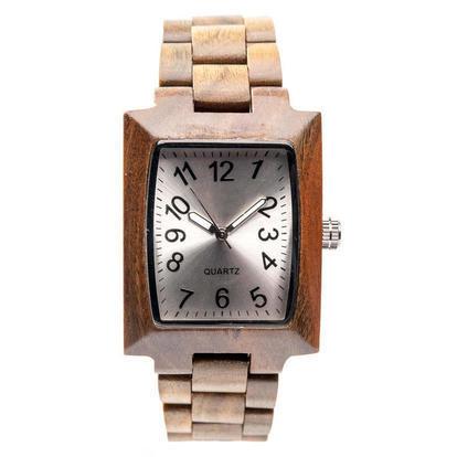 Orologio da polso in legno analogo