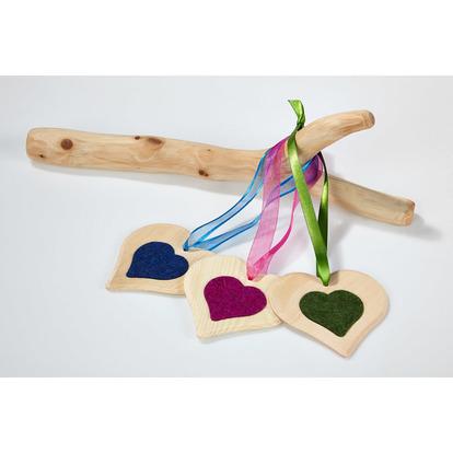Couri di legno di cirmolo in tutti colori