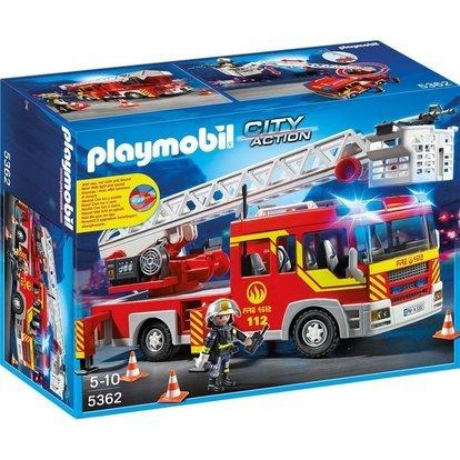 Playmobil 5362 - Autoscala Dei Vigili Del Fuoco con Luci e Suoni